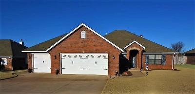 Guthrie Single Family Home For Sale: 3409 First Capital Circle