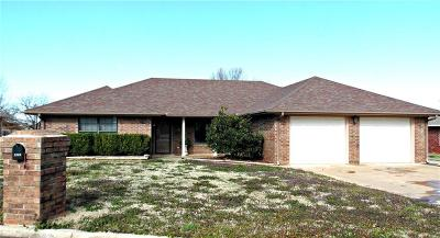 Chickasha Single Family Home For Sale: 2208 S 33rd Street