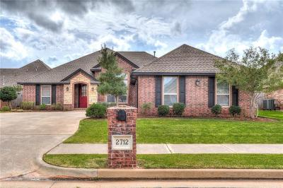 Edmond Single Family Home For Sale: 2712 NW 172nd Street