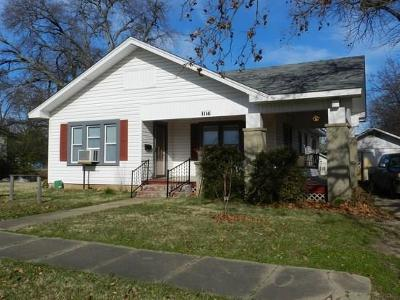 Single Family Home For Sale: 1114 W Vinita Street
