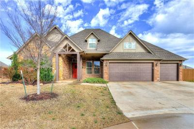 Edmond Single Family Home For Sale: 18832 Olive Branch Court