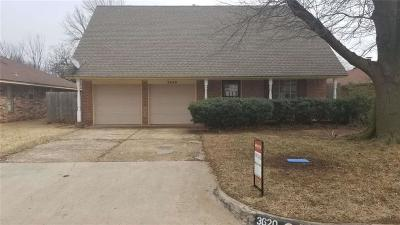Midwest City Single Family Home For Sale: 3620 Oak Grove Drive