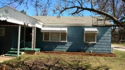 Chickasha Single Family Home For Sale: 811 S 13th Street