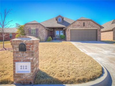 Oklahoma City Single Family Home For Sale: 212 SW 145th Street