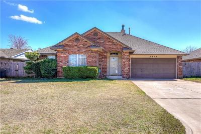 Oklahoma City Single Family Home For Sale: 9604 Blue Bonnet Place