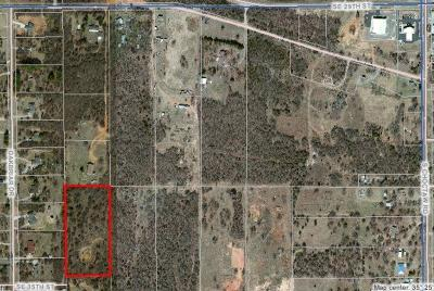 Choctaw Residential Lots & Land For Sale: Unpltd Pt Sec 14 11n 1w (Prtl)