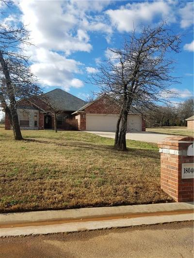 Choctaw Single Family Home For Sale: 18046 Timber Valley Drive