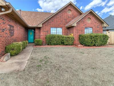 Oklahoma City Single Family Home For Sale: 8525 SW 36th Terrace