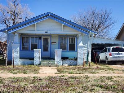 Altus Single Family Home For Sale: 1118 N Lee Street
