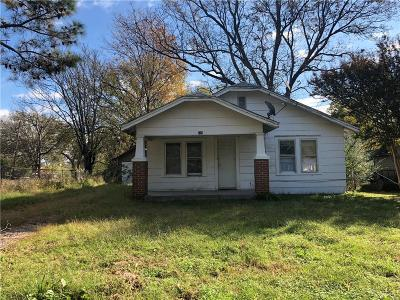 Shawnee OK Single Family Home For Sale: $15,500