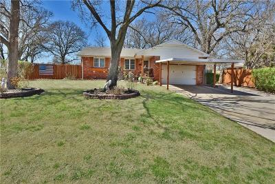 Lincoln County, Oklahoma County Single Family Home For Sale: 1205 Liveoak Drive