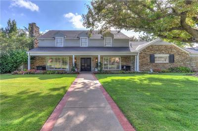 Nichols Hills OK Single Family Home For Sale: $1,399,000