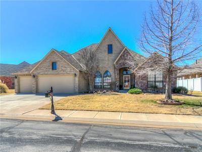 Lincoln County, Oklahoma County Single Family Home For Sale: 16705 Moorgate Lane