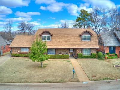 Oklahoma City Single Family Home For Sale: 3133 Brookhollow Road