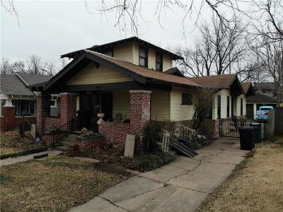 Oklahoma City Single Family Home For Sale: 220 NW 21st Street