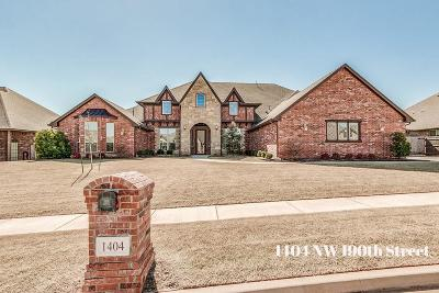Edmond Single Family Home For Sale: 1404 NW 190th Street