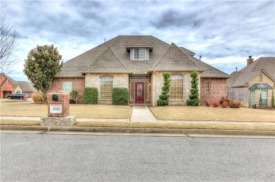 Edmond Single Family Home For Sale: 1616 Indian Springs Drive