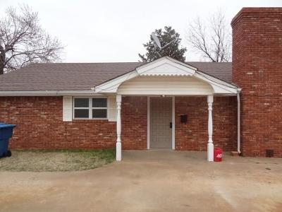 Cordell Single Family Home For Sale: 804 E 2nd Street