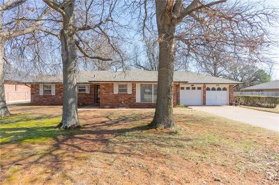 Mustang Single Family Home For Sale: 608 S Pleasant View Drive