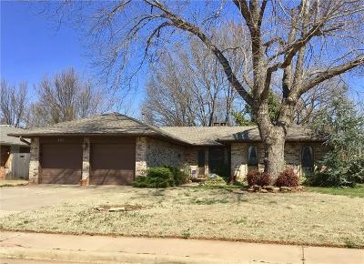 Edmond Single Family Home For Sale: 521 Banner Avenue