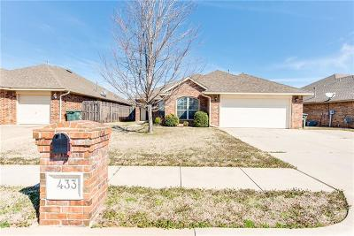 Edmond Single Family Home For Sale: 433 Pacific Crest Trail