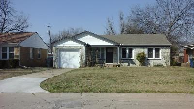 Oklahoma City OK Single Family Home For Sale: $100,500