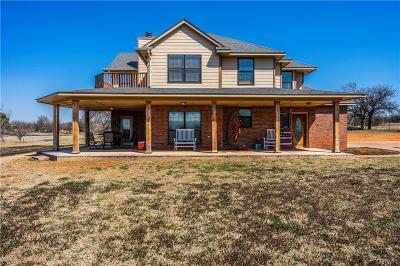 Blanchard OK Single Family Home For Sale: $275,000