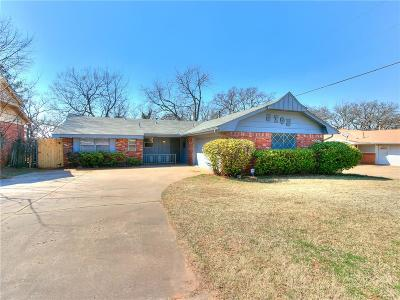 Oklahoma City Single Family Home For Sale: 5705 N Terry Avenue