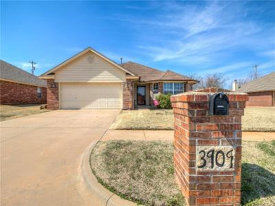 Yukon Single Family Home For Sale: 3909 Tori Place