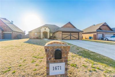 Single Family Home For Sale: 1671 Cedar Ridge