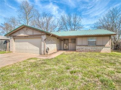 Edmond OK Single Family Home For Sale: $125,000
