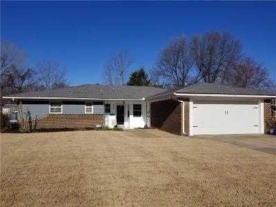Midwest City Single Family Home For Sale: 3521 Meadowbrook Drive
