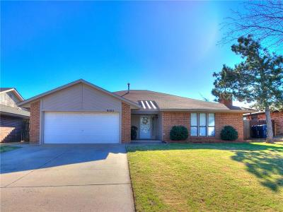 Oklahoma City Single Family Home For Sale: 9000 Dena Lane