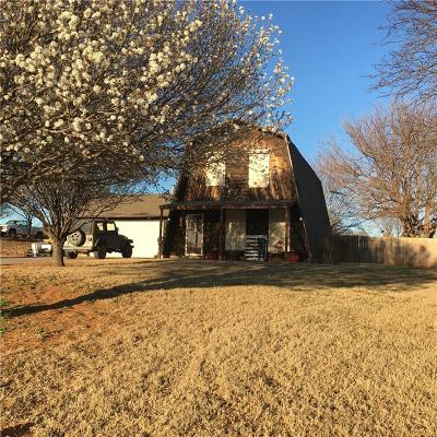 Fort Cobb Single Family Home For Sale: 1012 N Scenic Ridge Road