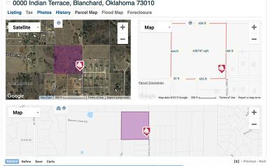Blanchard Residential Lots & Land For Sale: 0000 Indian Terrace