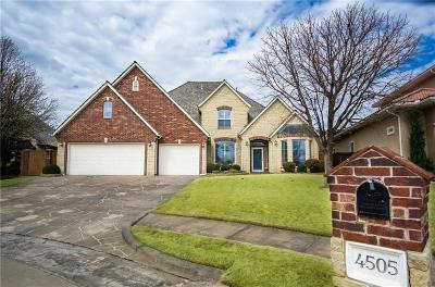 Norman, Moore, Oklahoma City, Edmond Single Family Home For Sale: 4505 Green Meadow Circle