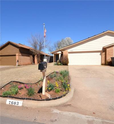 Oklahoma City Attached For Sale: 7603 NW 107th Street