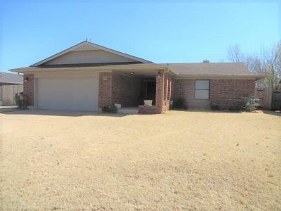 Chickasha Single Family Home For Sale: 118 Skyline Drive