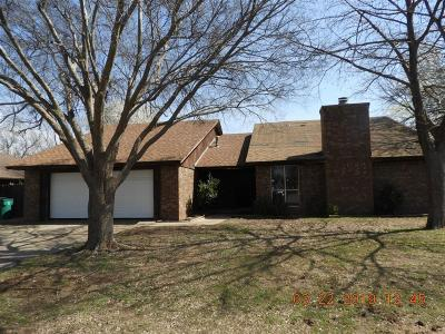 Edmond Single Family Home For Sale: 13913 Osage Drive