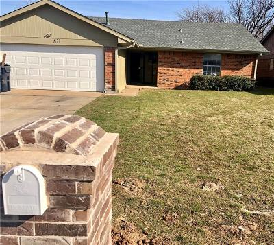Oklahoma City Single Family Home For Sale: 821 NW 115 Street