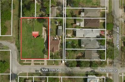 Oklahoma City Residential Lots & Land For Sale: 1321 NW 11th Street
