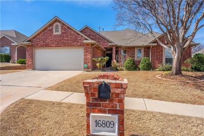 Edmond Single Family Home For Sale: 16809 Autumnwood Drive