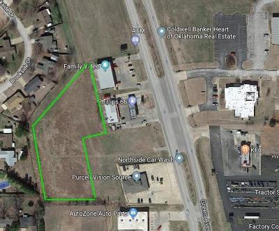 McClain County Residential Lots & Land For Sale: N Green Avenue