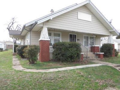 Chickasha Single Family Home For Sale: 1502 S 9th Avenue