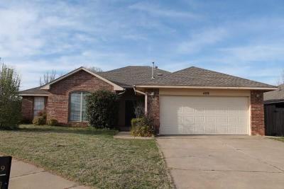 Edmond Single Family Home For Sale: 409 NW 142nd Circle