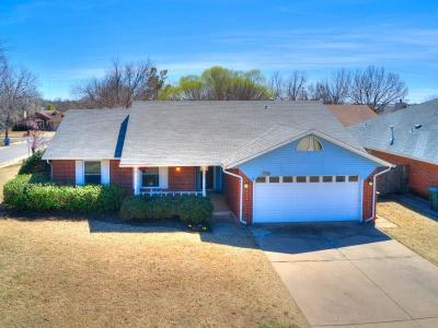 Edmond Single Family Home For Sale: 2008 Shorewood Lane