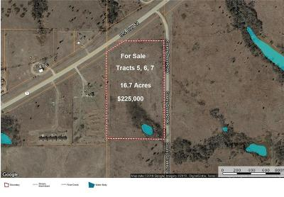 Blanchard Residential Lots & Land For Sale: Tract 5, 6 7 - Hwy 19c Highway