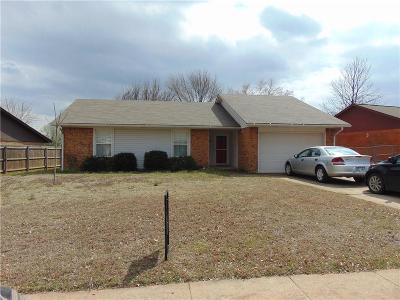Harrah Single Family Home For Sale: 286 Hickory Stick Lane