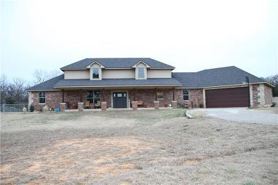 McLoud Single Family Home For Sale: 29259 Clearpond Road