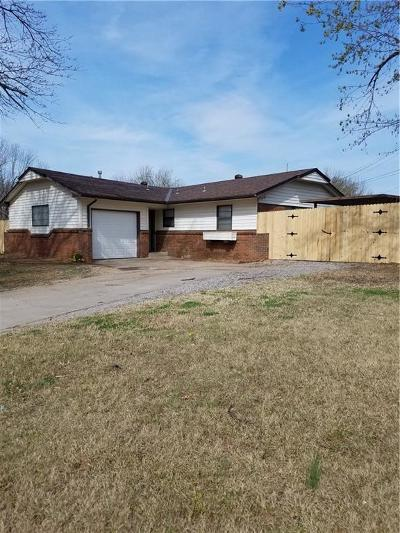 Midwest City Single Family Home For Sale: 709 Arthur Drive